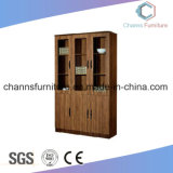 Classical Wooden File Office Cabinet with Glass