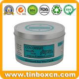 Hot Sale Custom Metal Tin Box Round Candle Tin Can