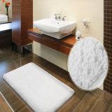 Pure Cotton Plush Bath Rug for Hotel/Home Usage (DPF10502)