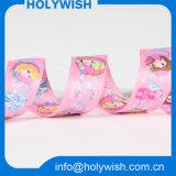 Stylish Strap Princess Cartoon Grosgrain Ribbon with Sublimation Printed