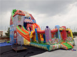CE Certificated Inflatable High Slide and Slip for Park