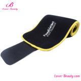 Convenient Yellow SBR Embossing Neoprene Waist Trainer Shaper
