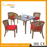 European Restoring Ancient Ways Cafes Garden Drawing Room Furniture Rattan Sofa Chair and Table Set