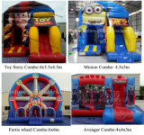 New Design Inflatable Bouncy Jumping Castle for Popular Carton