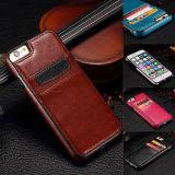 Fashion Genuine Leather Soft Back Case Cover Dt Card Pocket