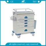 AG-At018 Ce & ISO Approved Cheap Medical Equipment Hospital Trolley for Sale