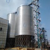 2017 Newest Hot Sale Galvanized Steel Silo for Poultry Feed and Farm Grain Storage