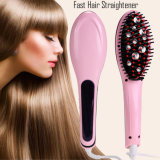 Electric Brush Hair Straightener