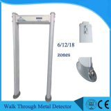 6/12/18 Zones Waterproof Walk Through Metal Detector