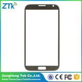 Wholesale Phone Front Screen Glass for Samsung Note 2 Grey