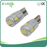 Canbus T10 W5w 6SMD5730 12 Volt LED Lights