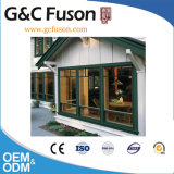 Latest Design Cheap Metel Double Glazing Aluminum Fix Window