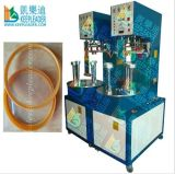 Plastic Cylinder Box Making, High Frequency Welding for Plastic Cylinder Box Bottom Welding