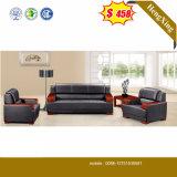 Modern Living Room Furniture Hotel Reception Leather Sofa (HX-SN045)