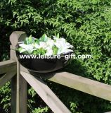 Bowl Decorative Wholesale Fiber Glass Flower Pot (Fo-264)