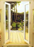 America Villa Designed Aluminum French Patio Door