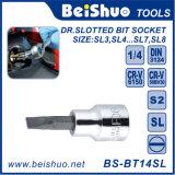 Drive 1/4′′ Slotted Bit Socket,