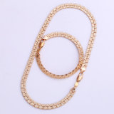 Xuping 18k Gold Plated Fashion Jewelry Chains Set (61919)