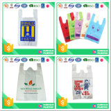 Hot Sale Multicolor PE Vest Bag for Supermarket