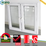 Custom Size PVC Burglar Proof Windows with Hurrciane Impact Glass