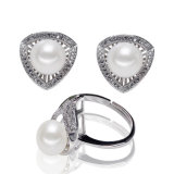 Sterling Silver Wholesale Natural Cultured Pearl Set