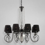 Artistic Black Chandelier Crystal (74611)