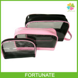 Lady Promotional Women Clear PVC Cosmetic Toiletry Makeup Bag