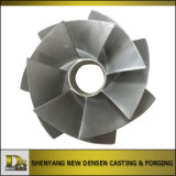 China Supplier Stainless Steel Investment Casting Open Pump Impeller