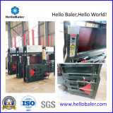 Vertical Plastic Bottles Baler Machine with 2 Cylinders