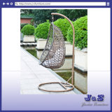 Rattan Patio Hanging Swing Garden Chair Set, Wicker Outdoor Furniture (J4308)