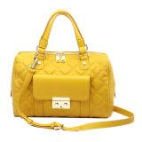 2015 Sunshine Yellow Fashion Genuine Leather Handbags (MBNO037021)