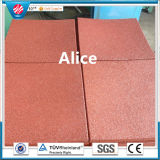 Recycle Rubber Tile/Colorful Rubber Paver/Interlocking Rubber Tiles