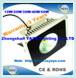 Yaye 18 Hot Sell Factory Price Ce/RoHS 10W/20W/30W/40W/50W LED Flood Light / LED Tunnel Light