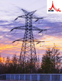 110 Kv Linear Angle Steel Power Transmission Tower