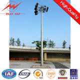 30m High Mast Pole 1.2ton Winch with 15*2000W LED Lights