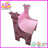 Cow Design Children Study Desk with Storage Shelf (WJ278094)