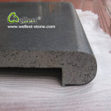Wholesale Grey Color Natural Lava Stone Pool Coping Paver for Swimming Pool