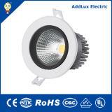 CE UL 16W 18W 20W Round COB LED Down Light