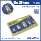 5PC 1/2′′&3/8′&1/4′′&3/4′′ Socket Adaptor Set