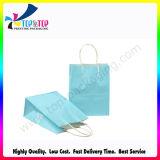 Blue Kraft Paper Shopping Packing Bag