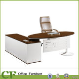 Modern Executive Table Office Desk with Side Cabinet