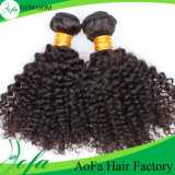 Raw Unprocessd Deep Curly Virgin Remy Indian Human Hair Weft