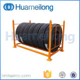 Customized Detachable Stacking Metal Racks for Tires Storage