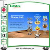 Spinning Toy Round Display Racks Basket