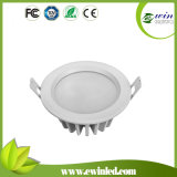 9W 720lm Round IP65 LED Downlight with CE RoHS