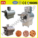 Fully Stainless Steel Walnut, Almond Nut, Coffee Bean Electrical Roasting Machine
