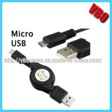 Retractable Micro USB Data Cable for Mobile Phone (CS-021)