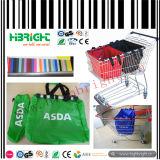 210d Supermarket Reusable Shopping Trolley Bag