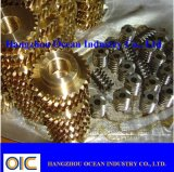 Brass and Copper Worm Pinion Gear