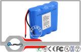 (1S4P) 3.7V 11600mAh 18650 Lithium Battery Pack